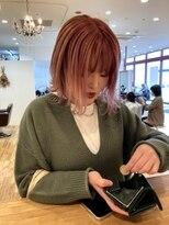 ルッツ(Lutz. hair design)pink gradation
