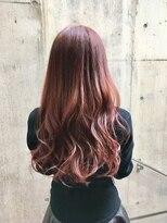 【Fate 天文館】透明感ある髪色に…イルミナヌードピンク