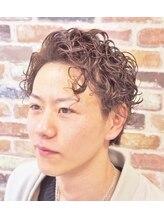 ヘアーサロン ふらっと(Hair Salon)メンズパーマスタイル
