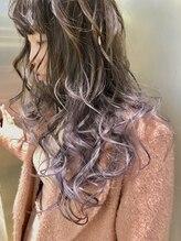 ドット トウキョウ カラー 町田店(dot.tokyo color)【pearl lavender12】グラデーションカラー カラーリスト海野