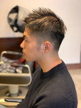 サンク(cinq)の写真/メンズならではの目線でプライベート/ビジネスシーンもキマルベストなヘアへ…!男性スタイリスト担当。