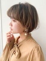 リップス 銀座店(LIPPS)【LIPPS銀座】(安田愛佳)大人可愛い丸みショート20代30代