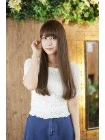 アシュリー(ashuley)【ashuley】超美髪☆うるツヤストレートロング