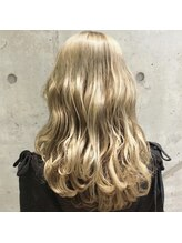 枝毛、切れ毛94%削減!#ケアブリーチでダブルカラー