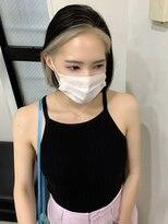シャチュー(SHACHU)【MORIYOSHI】韓国スタイル☆フレーミングカラー×耳掛けボブ