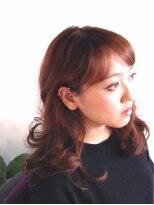 ヘアーカーブ(haircarve)haircarve春☆パンキッシュ・フェミニンカラー