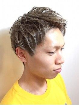 アオゾラヘアー フジサキグウ(AOZORA HAIR FUJISAKIGU)の写真/<予約殺到★お店選びに迷ったらココへ>爽やかスタイルは、幅広い世代の男性に人気のAOZORA HAIRで☆
