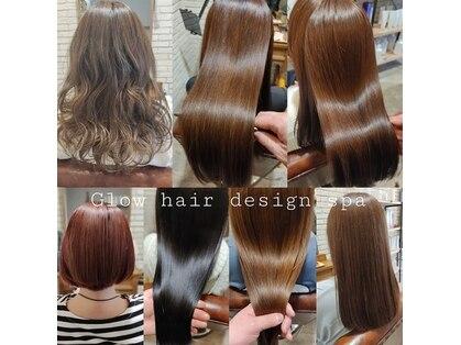 グローヘアーデザインスパ(Glow hairdesign spa)の写真
