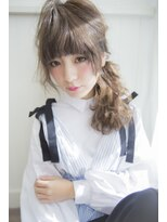 シエン(CIEN by ar hair)CIEN by ar hair片瀬『浜松可愛い』ポニーテールアレンジ♪