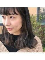 インナーカラー × アッシュ