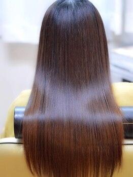 ヘアメイク スカイスパ(Skyspa)の写真/《ケラチン量アップ!!エイジングケアに最適!!》大満足のハリ・コシ◎若々しい髪の骨格へチェンジ♪
