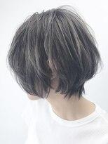 アルバム シンジュク(ALBUM SHINJUKU)グレーマッシュウルフショート_セシルカット_ba72872