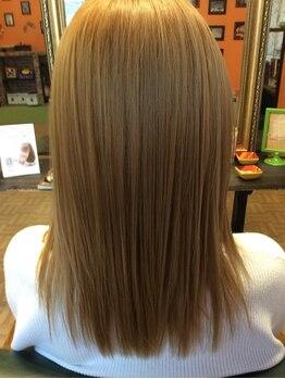 ヘアーブランド ゴップリン(hair brand GOPLIN)の写真/[新感覚!]トリートメントでストレートヘアに★ダメージレスにクセ・うねりを解消し思い通りにスタイリング!