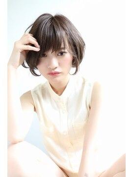 ネオリーブ アンド 渋谷店(Neolive &)【Neolive & 渋谷店】小顔に見えるショートヘア