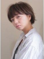 キース ヘアアンドメイク(kith. hair&make)kith.本田×シンプル耳かけマッシュ