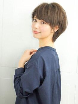 メロアヘアデザイン(Meloa Hair design)の写真/水分パックジェル処方のウォーターカラー。本物志向の大人女性も納得のやさしいカラーで極上の艶髪に。