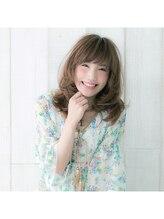 ブレス(BLESS)【梨花さん風】浮遊感のあるモテモテ小顔愛されセミロング
