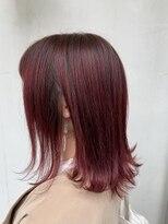 ヘアー アイス カンナ(HAIR ICI Canna)ディープピンク×イルミナカラー