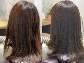 ヘアーカルチャー 小倉台店 HAIR CULTUREの写真/髪質改善ケアの専門資格を持つスタイリストが勢揃い!頭皮診断&髪質診断でお客様に合った施術をご提供。