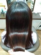 ベルシュブーバイヒサオ(belles cheveux by HISAO)【エイジングケア】カットカラー水素炭酸トリートメント