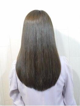 ヘアーリゾート モアナ(hair Resort moana)の写真/【失敗経験のある方へ】実力派Stylistの髪質診断で最適な施術を提案!優しく自然なストレートをデザイン☆