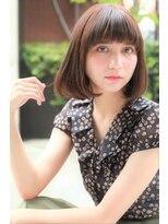 ダミア(DAMIA)【大人ヘアカタログ】カジュアルボブ~小顔に見える前髪の切り方