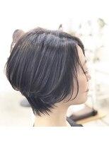エトネ ヘアーサロン 仙台駅前(eTONe hair salon)【eTONe】25歳からオススメのくびれショート