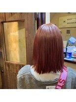 ジェイポイント ヘア クリニカ(J:POINT Hair CLINICA)オレンジ×ピンク