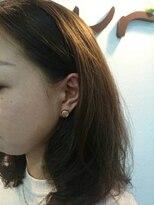 美容室 ボヌール【ボヌール】チラッと耳かけコラボ【ハンドメイドアクセ】