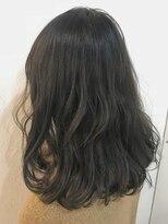 ヘアーアンドメイク ルシア 梅田茶屋町店(hair and make lucia)ドライフラワーカラー★カーキグレージュ★