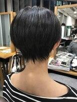 ガーデン ハラジュク(GARDEN harajuku)【Grow 】高橋 苗 黒髮×小顔ショート×ノームコア