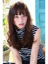 ソース ヘア アトリエ 京橋(Source hair atelier)【Source】大人キュートなモテナチュラルロング