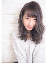 ヘアーブランド リンク 三宮店(HAIR BRAND Link)【Link】バイオレットアッシュで創る柔らかセミディ