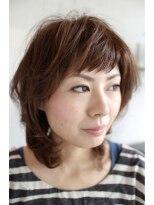 ヘアーシュエット(Hair Chouette)ひし形シルエット
