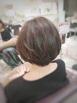 クール ヘアー ギャラリー 神明町店(COOL Hair gallery)後ろ美人ひし形ボブ☆