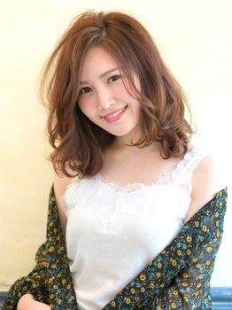 ヘアーアート シオン(Hair Art Sion)の写真/【低刺激なオーガニックカラーでトレンド×抜け感ある旬カラーを♪】艶感あふれる素髪へ導いてくれます◎