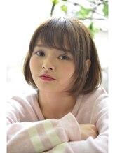 ヘアーデザイン キャンパス(hair design Campus)【シースルバングで可愛さMAX!】愛くるしいボブ☆
