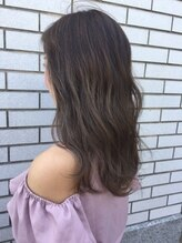 ヘアーアンドメイク ニューヨークニューヨーク 姫路店(Hair&Make NYNY)【イルミナカラー】ハイライト入りナチュラルグラデーション
