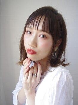 ヘアリゾート ブリス(hair resort Bliss)の写真/【吹田・山田駅】日本人特有の赤みを抑えた、透明感溢れる憧れの外国人風カラーで新しいワタシに◇