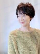 ラトリエコンタン(L´atelier Content)【LatelierContent yumi】大人のボーイッシュショート