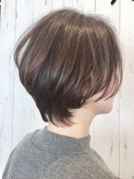 ヘアーガーデンハグム(hair garden hugm)の写真/【合志アンビー熊本】女性らしく、柔かな質感のスタイルで印象UP♪hugmの技術で『なりたい』を叶えます☆