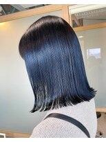 艶髪ブルーブラック