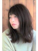 ★hair LOGIA★  〇3Dカラー 抜け感 小顔ミディアム