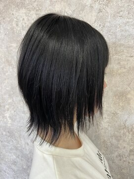 シュガービー(SUGAR-B)【SUGAR-B 】黒髪ショートウルフ