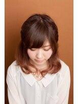 モイヘアーデザイン(moi hair design)autumnグラデーション