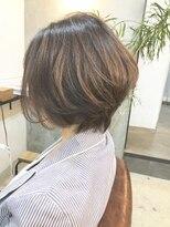 エトネ ヘアーサロン 仙台駅前(eTONe hair salon)【eTONe】ウェイト高めの前下がりボブ