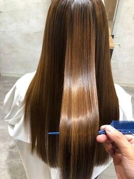リーベルム(Liberum)の写真/春日井で《Liberum》しか取り扱っていない髪質改善トリートメントで見違える髪質に★