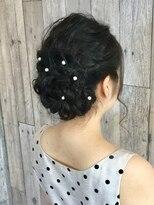ヘアースペース ムーン(Hair Space MOON)結婚式用のヘアセット