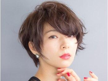 アミィヘアー(Ami Hair)の写真/柔らかい質感で引き出すショートの魅力◎骨格に合わせたカットでスタイリングもバッチリ!