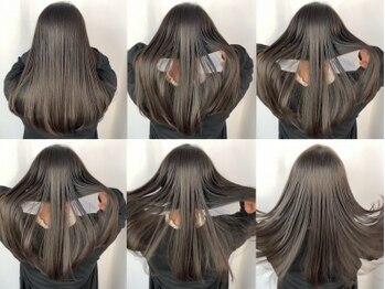 ティティヘアーコーディネート(Titi hair coordinate)の写真/【Titi】オリジナルの自然でつい触れたくなる柔らかいストレートヘアーを♪